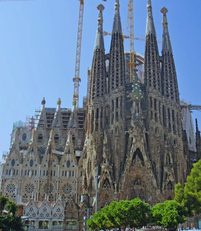 Barcelone - Sagrada-Familia