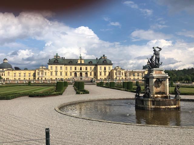 Suède-Chateau-de-Drottningholm