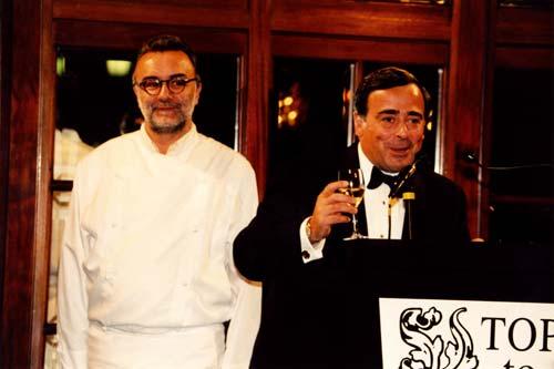 Alain Ducasse - M. Enrico, Chairman of Pepsi-Cola